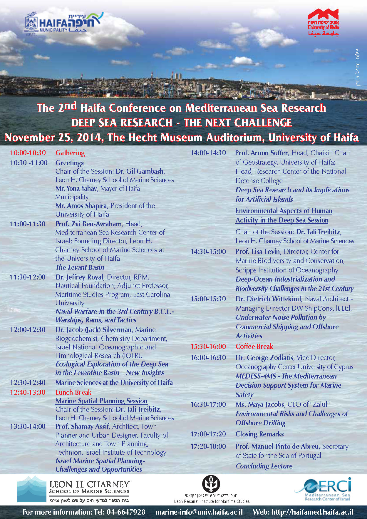 Invitation- conference on Mediterranean Sea research